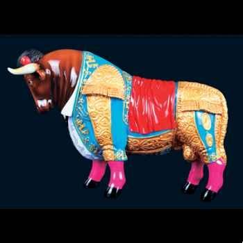 Taureau Viva el toro Art in the City - 80707