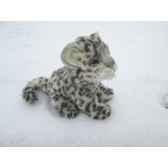 leopard des neiges assis anima 6356
