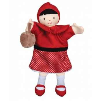Marionnette chaperon rouge histoire d\'ours -2235