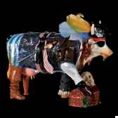vache cow pirate art in the city 80630