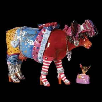 Vache Glamour Girl Art in the City - 80634