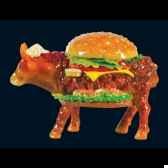 vache hamburger art in the city 84109