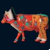vache palatala the red sunrise art in the city 80624