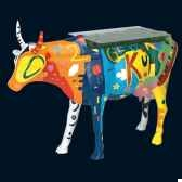 vache rouge noir table cow art in the city 80901