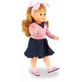 poupee marie francoise originale rosa 40 cm finition mate tete en vinyle souple cheveux auburn yeux en amande dormeurs 2