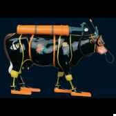 vache zenzi the scuba diver art in the city 80607