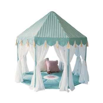 Pavillon tissu bleu enfant - PAVWI