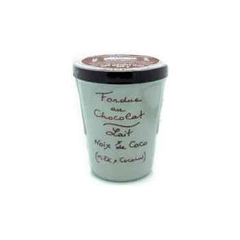 2 fondue au chocolat au lait et noix de coco Aux Anysetiers du Roy - 0318x2