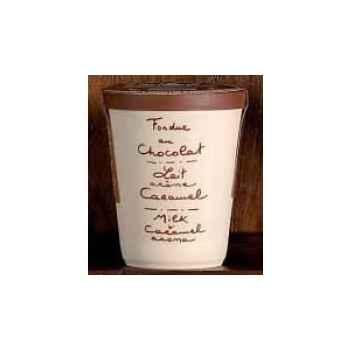 2 fondue au chocolat au lait et caramel Aux Anysetiers du Roy - 0319x2