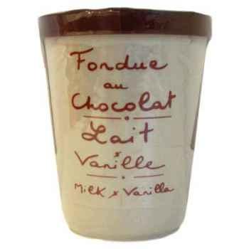 2 fondue au chocolat au lait et vanille Aux Anysetiers du Roy - 0321x2