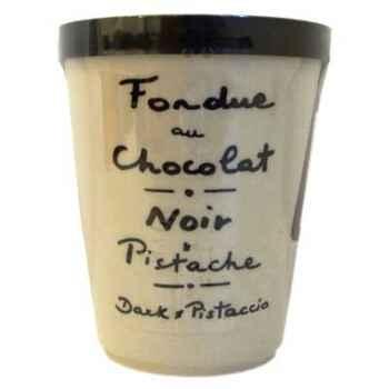 2 fondue au chocolat noir et pistache Aux Anysetiers du Roy - 0323x2