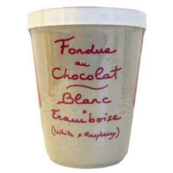 2 fondue au chocolat blanc et framboise Aux Anysetiers du Roy - 0327x2