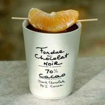 2 fondue au chocolat noir 70% et cacao Aux Anysetiers du Roy - 0329x2
