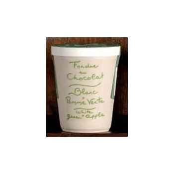 2 fondue au chocolat blanc et pomme verte Aux Anysetiers du Roy - 0337x2