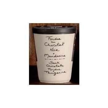 2 fondue au chocolat noir et mandarine Aux Anysetiers du Roy - 0342x2