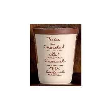 2 fondue au chocolat Saint Valentin au lait et caramel Aux Anysetiers du Roy - V319x2