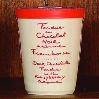 2 fondue au chocolat noir et framboise Aux Anysetiers du Roy - 0338x2