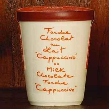 2 fondue au chocolat au lait cappuccino Aux Anysetiers du Roy - 0344x2
