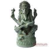 statuette divinite hindouiste en bronze brz1281v