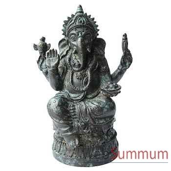 Statuette divinité hindouiste en bronze -BRZ1282V