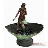 fontaine vasque en bronze brz02
