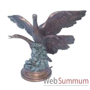 Fontaine à bassin en bronze -BRZ1094
