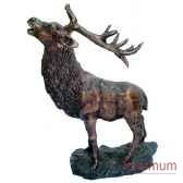 cerf en bronze brz1244