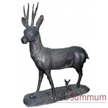 Cerf en bronze -BRZ89