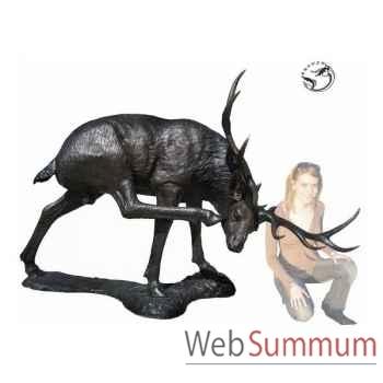 Cerf en bronze -BRZ988