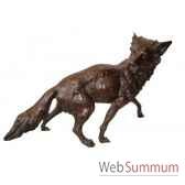 renard en bronze brz1137