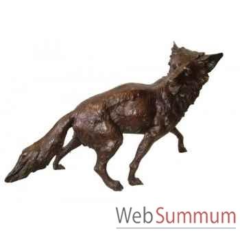 Renard en bronze -BRZ1137