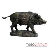 sanglier en bronze brz1006