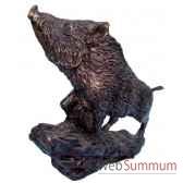 sanglier en bronze brz1237