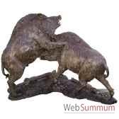 sanglier en bronze brz1332