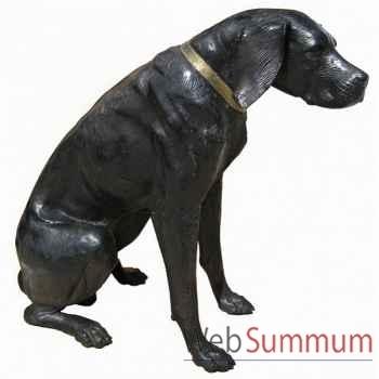 Chien en bronze -BRZ106