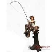 enfant en bronze brz1305