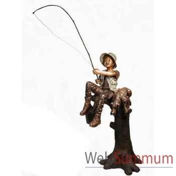 Enfant en bronze -BRZ1305