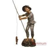 enfant en bronze brz1307
