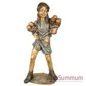 enfant en bronze brz1309