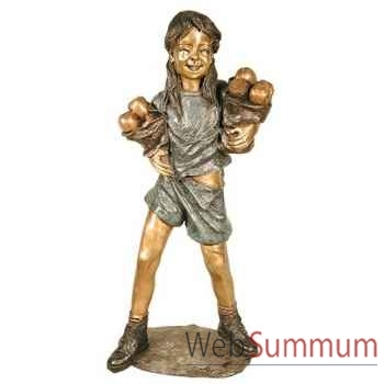 Enfant en bronze -BRZ1309