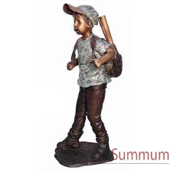 Enfant en bronze -BRZ1312