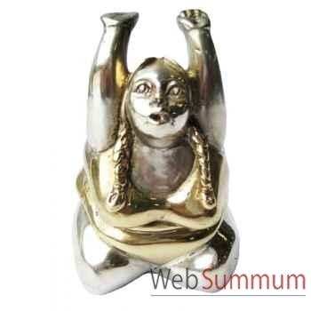 Statuette femme contemporaine en bronze -BRZ1107-13