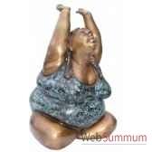 statuette femme contemporaine en bronze brz1107 41