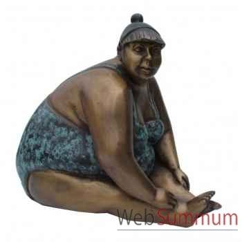 Statuette femme contemporaine en bronze -BRZ1110-13