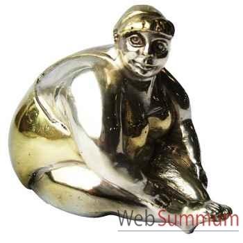 Statuette femme contemporaine en bronze -BRZ1110-41