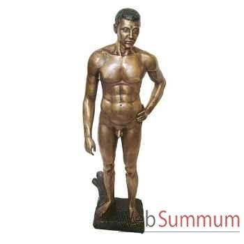 Statuette femme contemporaine en bronze -BRZ1126