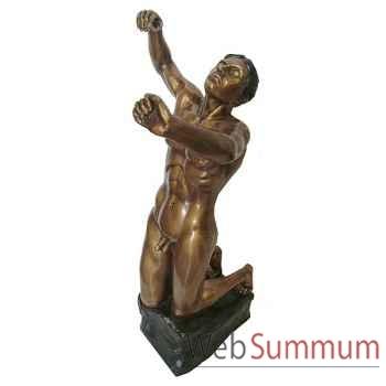 Statuette femme contemporaine en bronze -BRZ1128