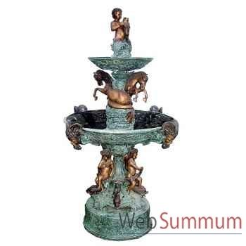 Fontaine à étage en bronze -BRZ1155