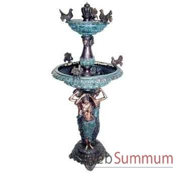 Fontaine à étage en bronze -BRZ1179