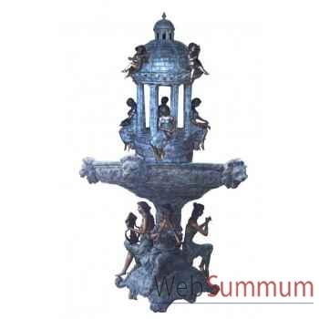 Fontaine à étage en bronze -BRZ463